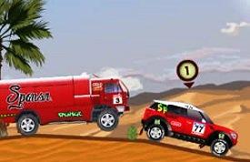 Yarışçı Dakar oyunu