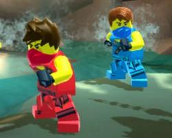Ninjago Mağara Kaçışı oyunu