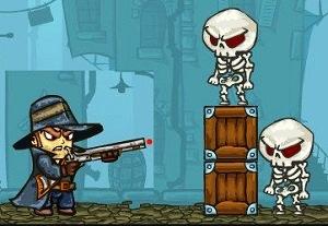 Van Helsing ve iskeletler oyunu