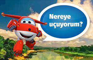 Harika Kanatlar Jet Nereye Uçuyorum oyunu