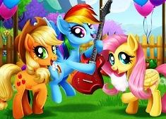 Pony Çiftlik Festivali oyunu