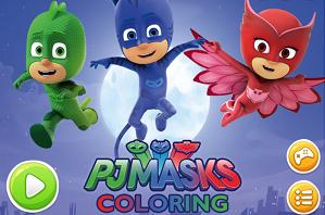 Pijamaskeliler Boyama Pijamaskeliler Boyama Oyunu Disney Channel
