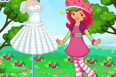 Çilek Kız Giydirme oyunu
