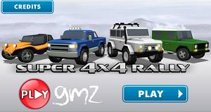 Süper 4x4 Yarışçı Rally oyunu