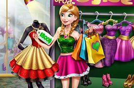 Anna ile Alışveriş oyunu