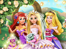 Rapunzel Düğün Partisi oyunu