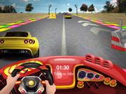 3D Yarışçı Hızı oyunu