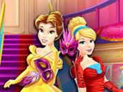 Disney Prensesleri Maskeli Balo Alışverişi oyunu