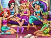 Disney Prensesleri Pijama Partisi oyunu