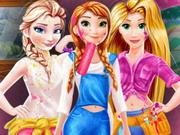 Disney Prensesleri Odası oyunu