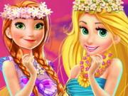 Disney Prensesleri Hawaii Alışverişi oyunu