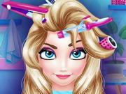 Elsa Saç Bakımı oyunu