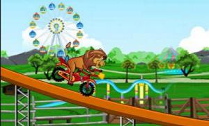 Aslan Koruyucular Lunapark Yarışı oyunu
