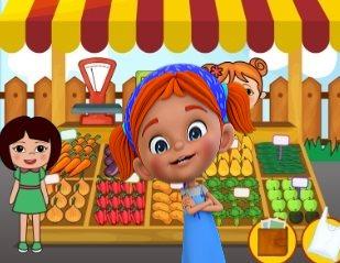 Elifin Düşleri Sebzeler