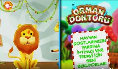 TRT Çocuk Orman Doktoru oyunu