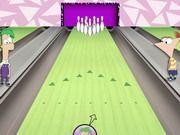 Fineas ve Förb Bowling oyunu