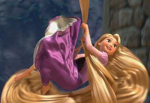 Rapunzel Gizli Harfler oyunu