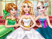 Prenses Rapunzel Düğünü oyunu