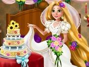 Rapunzelin Düğün Dekorasyonu oyunu