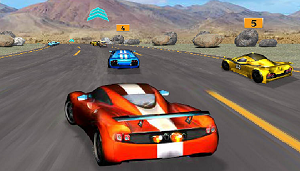 Yarışçı Spor Araba oyunu