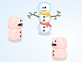 Sumo Snowman oyunu