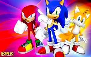 Sonic Boom Halkaları Topla oyunu