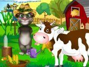 Talking Tom Çiftlikte oyunu