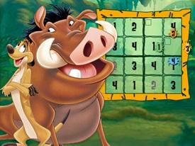 Aslan Koruyucular Sudoku oyunu