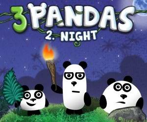 3 Panda Gece Macerası oyunu