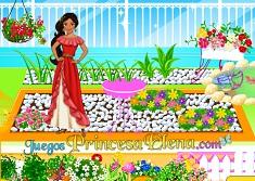 Prenses Elena Bahçe Dekorasyonu oyunu