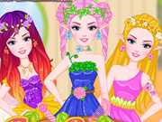 Barbie Peri Saç Modeli