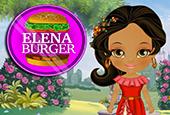 Prenses Elena Hamburger Yapma oyunu