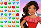 Prenses Elena Bejeweled oyunu