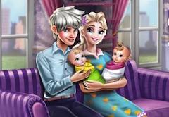 Elsa İkiz Bakımı oyunu