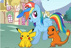 My Little Pony Pokemon Go oyunu