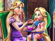 Rapunzelin Bebek Bakımı oyunu