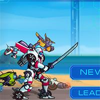 Transformers Robot Araba Yarışı oyunu