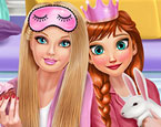 Prensesler Pijama Partisinde