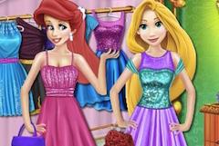 Disney Prensesleri Alışveriş Zamanı oyunu