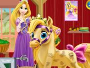 Rapunzel Midilli Bakımı oyunu