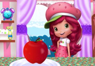 Çilek Kız Elmalı Kurabiye oyunu