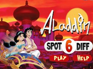 Aladdin Fark Bulma oyunu