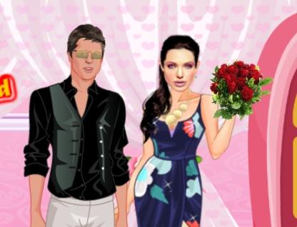 Angelina ve Brad Romantik Buluşma oyunu