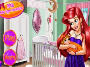 Arielin Bebek Odası oyunu