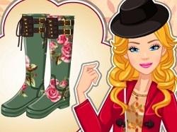 Barbie Sonbahar Modası oyunu