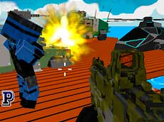 Blocky Combat Swat oyunu