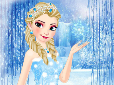 Elsa Kış Modası oyunu