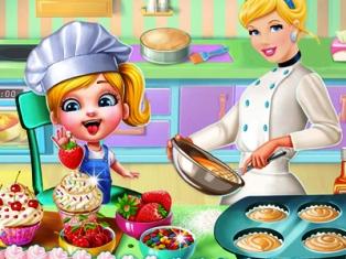 Cindy Kek Pişirme oyunu