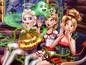 Prensesler Cadılar Bayramı oyunu