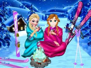Elsanın Kış Tatili oyunu